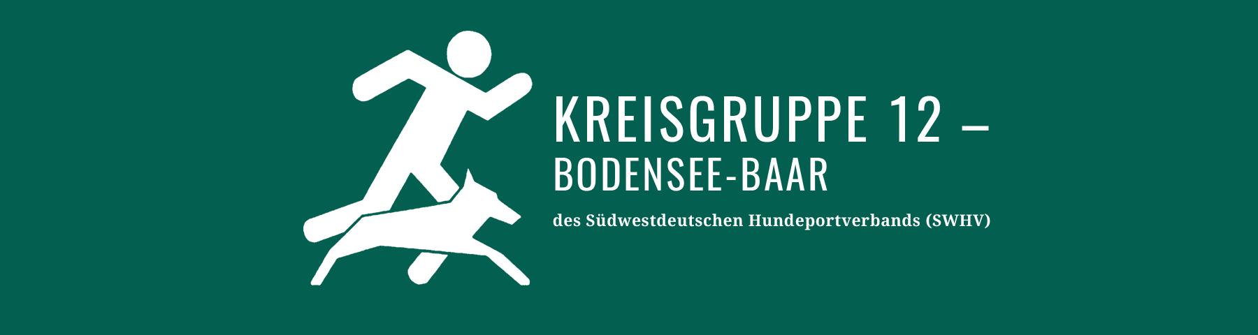 Südwestdeutscher Hundsportverband // KG12 – Bodensee-Baar
